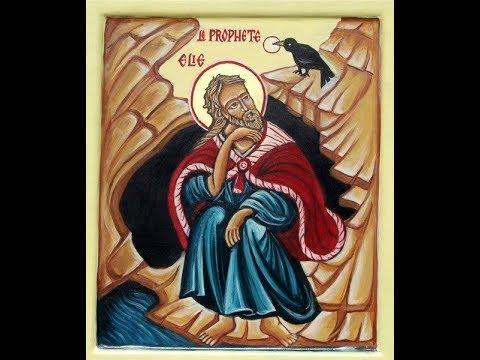 Saint Elie, le prophète qui doit revenir à la fin du monde (900 av JC), par Arnaud Dumouch