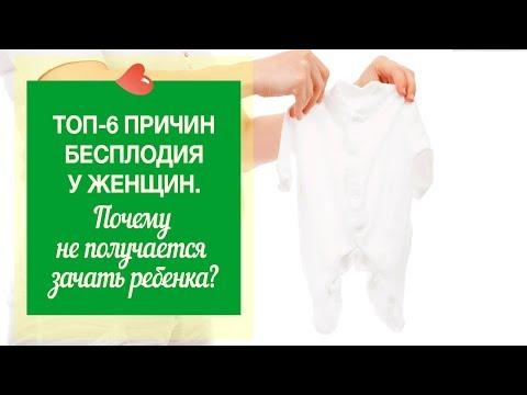 Топ-6 причин бесплодия у женщин.  Почему не получается зачать ребёнка?