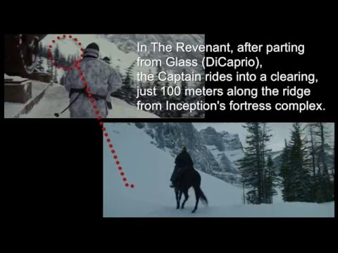 Fortress Mountain in Inception and the Revenant