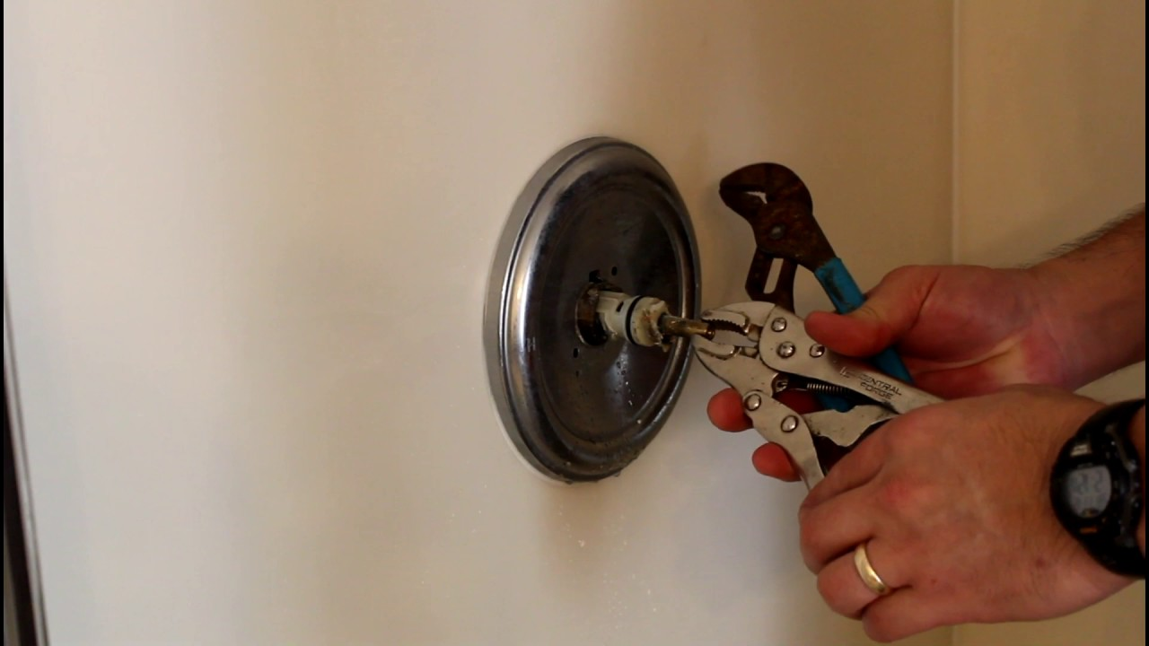 Moen Shower Valve Cartridge Replacement Youtube