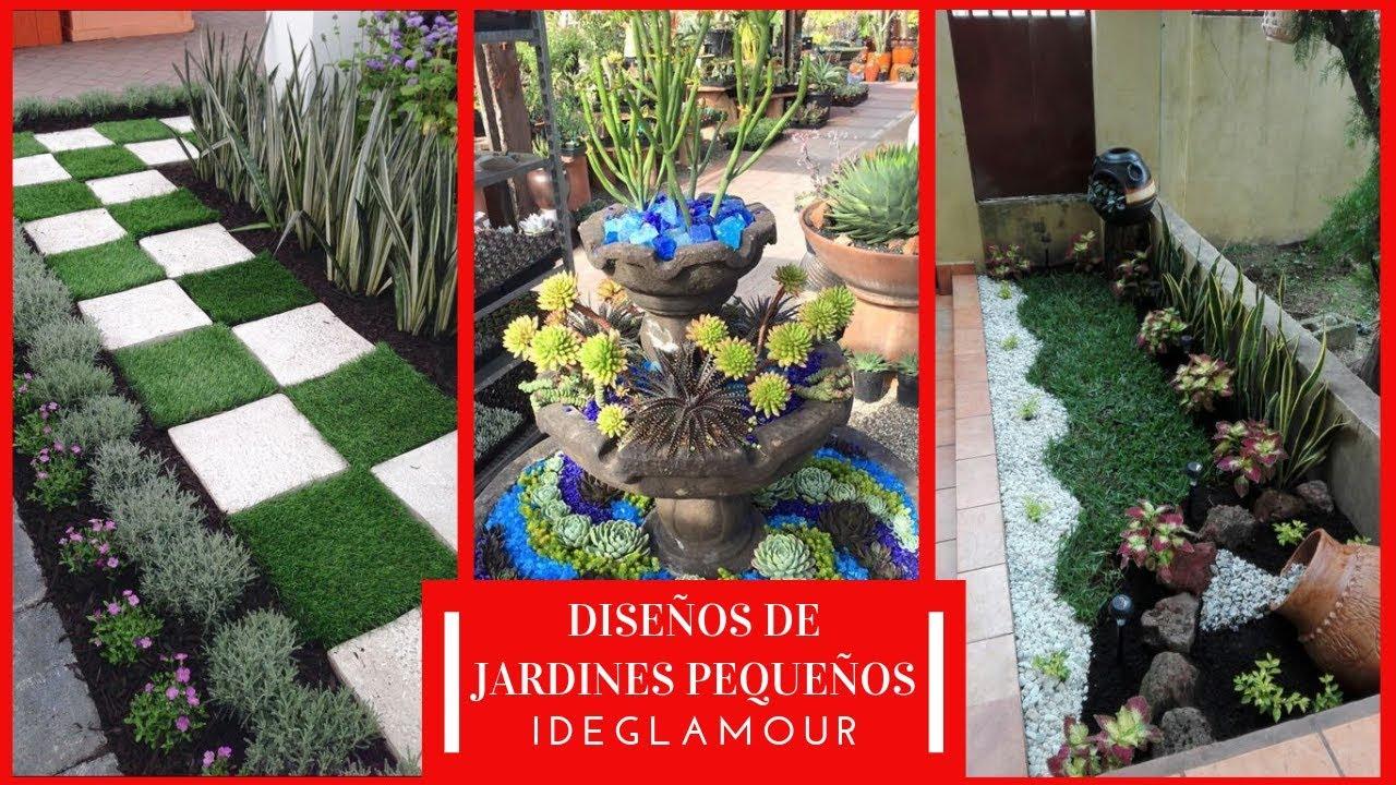 Ideas Disenos De Jardines Pequenos By Ideglamour Youtube