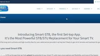 Download Smart Stb Setup Guide For Samsung Or Lg Smart Tv With Vader