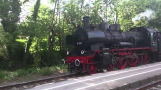 Dampflok 38 1301.  Máquina de vapor Rumana de 1935