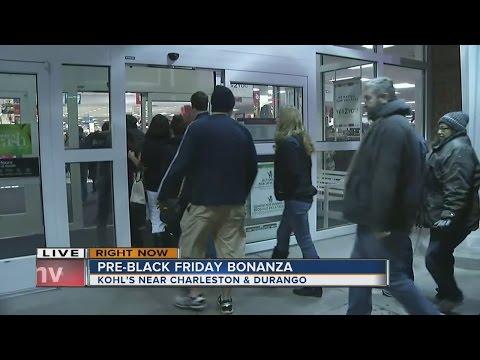 Black Friday begins at many stores around Las Vegas valley