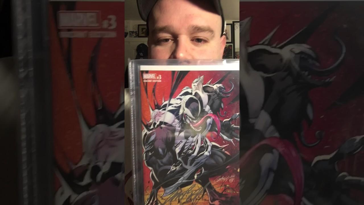 J Scott Campbell Venom # 3 Comic Book