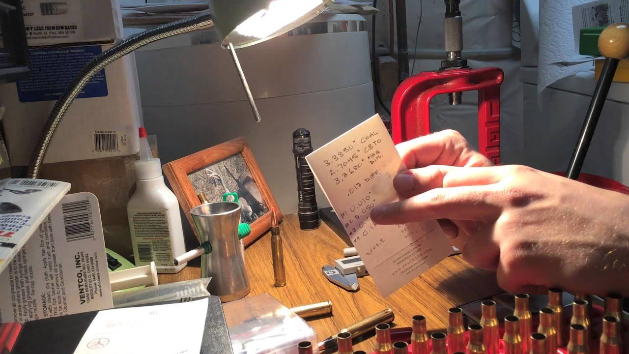 Reloading for the Berger VLD Hunting Bullet - Part 2