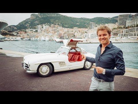 DRIVING MY 1955 MERCEDES 300SL IN MONACO | NICO ROSBERG | eVLOG
