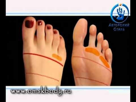 Рефлекторный массаж стоп ног Омск Зоны Тайский массаж стоп ...