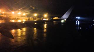 American Airlines Airbus A321T Sharklets Diverted Landing at Hartford Bradley International Airport