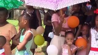 Moravian Children Day Bluefields Nicaragua august 2018