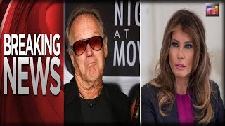 BREAKING: First Lady Melania Calls Secret Service After Peter Fonda Threatens to Kidnap Barron Trump