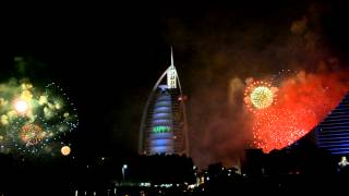 Burj Al Arab fireworks 2013 ( Part 1 ) By: Andz Kipper