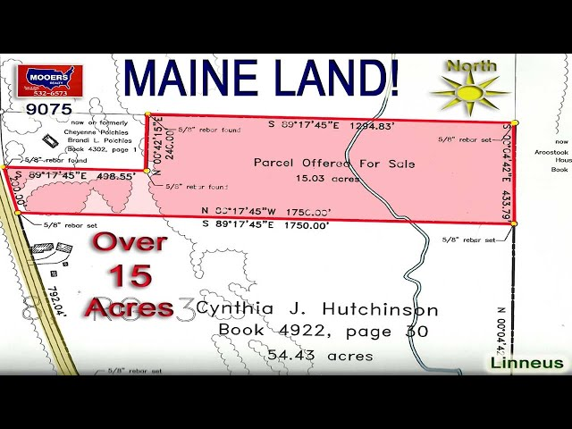 Maine Land For Camp Or Home Site Video | Maine Real Estate MOOERS REALTY 9075