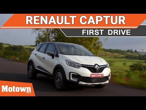 Renault Captur premium SUV   First Drive   Motown India