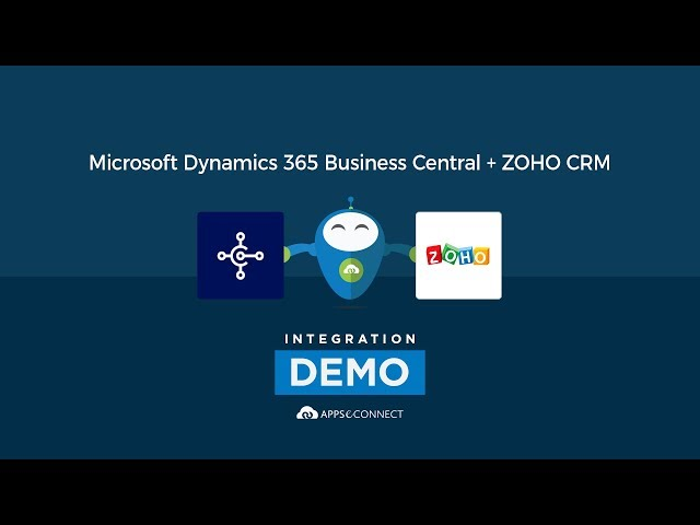 Integrate Microsoft Dynamics 365 Buusiness Central ERP and Zoho CRM | APPSeCONNECT