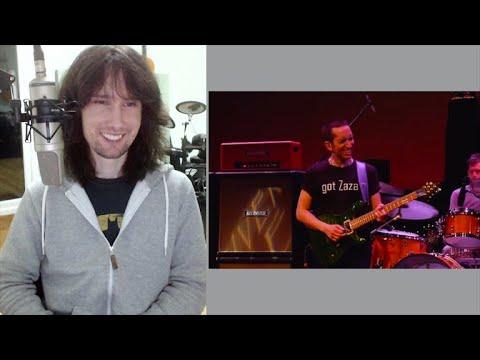 British Guitarist Analyses Neil Zaza Live In 2013 Playing 'I'm Alright'!