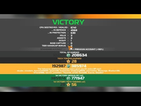 Robocraft March 2015 promo code: SERVERS-156537 and 1st Victory 771 K RP with my ugly МЕГАБОТИК