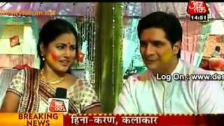 Naitik Aur Akshra Ki Holi-SBB Segment 7th March 2012