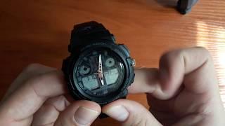 Огляд і налаштування. Спортивні чоловічі годинники Skmei 1270 Kalipso. Магазин Lekos