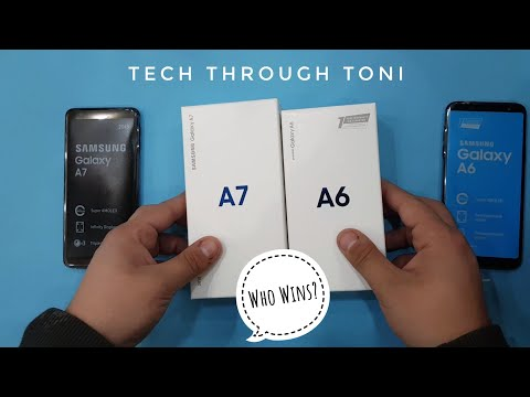 Samsung A7 2018 vs Samsung A6 2018
