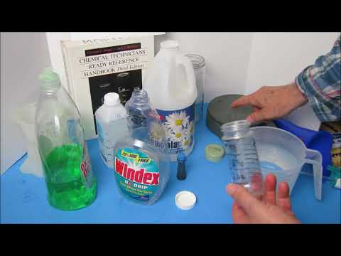 DIY pro Glass Cleaner similar to Windex
