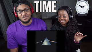 "Pink Floyd - ""Time""  with lyrics (reaction)"