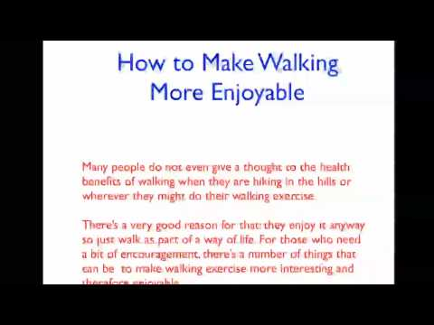 Walking for Fitness and Health Tips