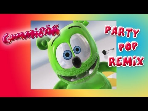 Party Pop REMIX - Gummy Bear Song - Gummibär