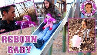 REBORN BABY Spielplatz ABENTEUER - Puppenmama in Aktion - Mileys Welt