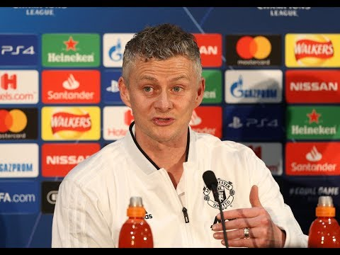 Ole Gunnar Solskjaer's press conference before PSG vs Man Utd
