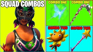 10 PERFECT COMBOS... BUT I FIND THEM IN SQUADS! (Which Teammate Has The Best Combo?) / Fortnite BR!