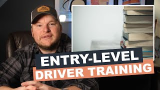 What is the FMCSA's new entry-level driver training rule?