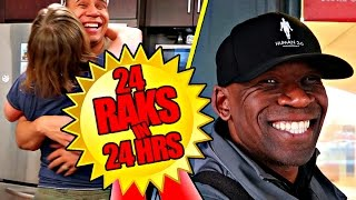 24 RANDOM ACTS OF KINDNESS IN 24 HOURS! (NICENESS CHALLENGE) | THE RENTS
