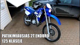TURBŪT GERIAUSIAS 125CC ENDURO MOTOCIKLAS