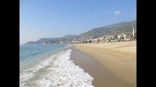 Der schöne Strand in Avsallar -Türkei 2013