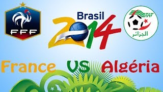 france algrie fifa 14 wc   ps4 it s game   cpu vs cpu