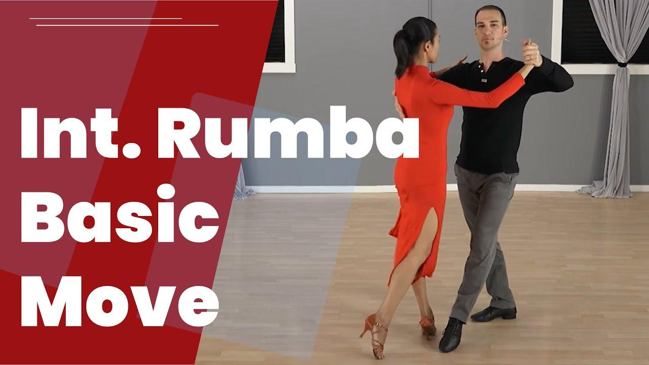 International Style Rumba Basic Movement Steps Youtube Dance Step Diagram