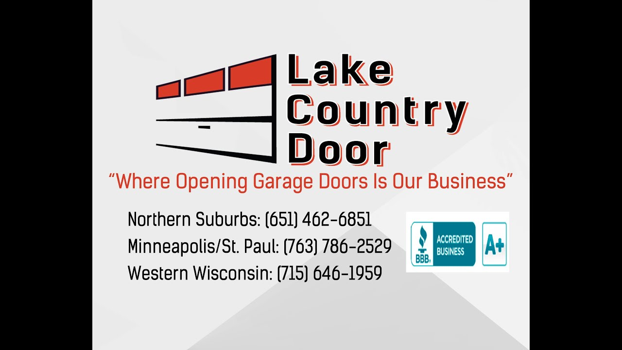 Lake Country Door Of Wyoming Mn Youtube