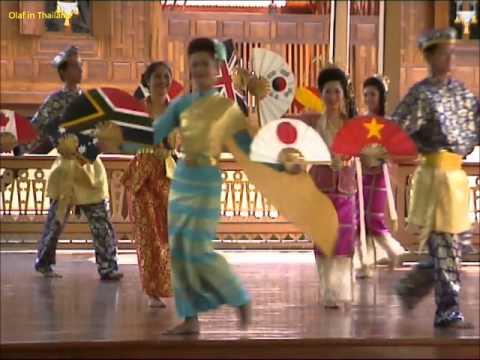 Olaf in Thailand / Episode 50: Bangkok - Wimanmek-Palast / Vimanmek Mansion (Palace) Thai Dance 8