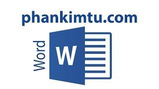 Tự học Word - 1/50 Giới thiệu giáo trình Microsoft Word 2013 (Introduce)