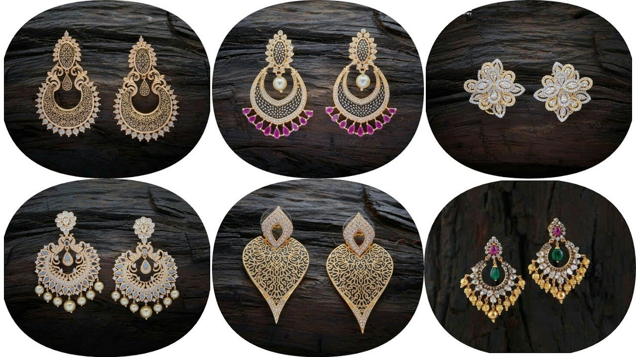Latest daily wear Gold Tops Design | Earrings Designs | Gold ...