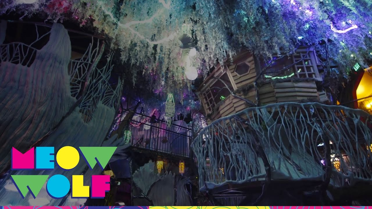 Meow wolf the house of eternal return youtube for The house returns