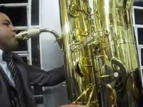 Sax Contra Baixo Curitiba Hino 01 Youtube