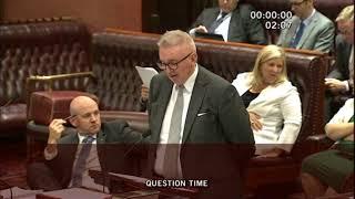 Question on Liverpool Plains coal seam gas exploration licences