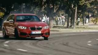The Epic Driftmob in Cape Town featuring the new 2014 BMW M235i