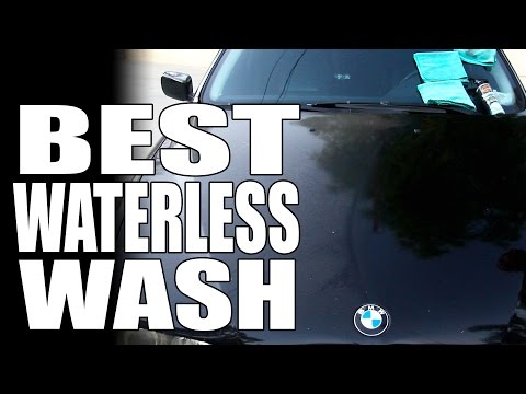 How To: Waterless Car Wash - Masterson's Car Care - Auto Detailing Tips & Tricks