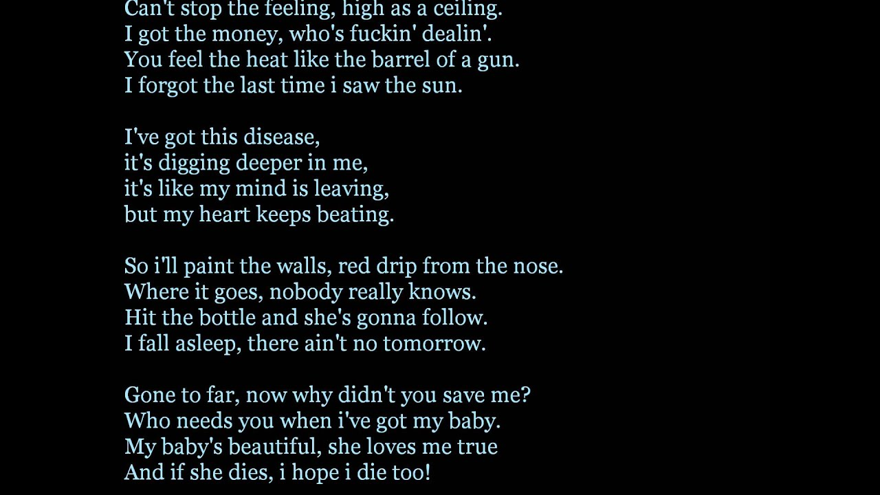 hollywood undead - levitate lyrics