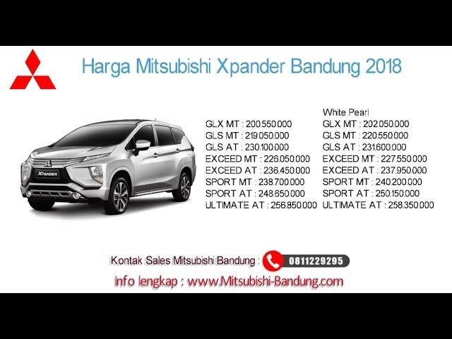 Harga Mitsubishi Xpander 2018 Bandung dan Jawa Barat | 0811229295