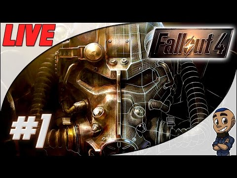 Fallout 4 — Part 1 | VAULT 111, DOGMEAT & POWER ARMOR | Gameplay Walkthrough Playthrough LIVESTREAM