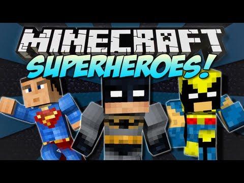 minecraft-|-superheroes-mod!-|-batman,-superman,-wolverine-&-more!-[1.4.7]